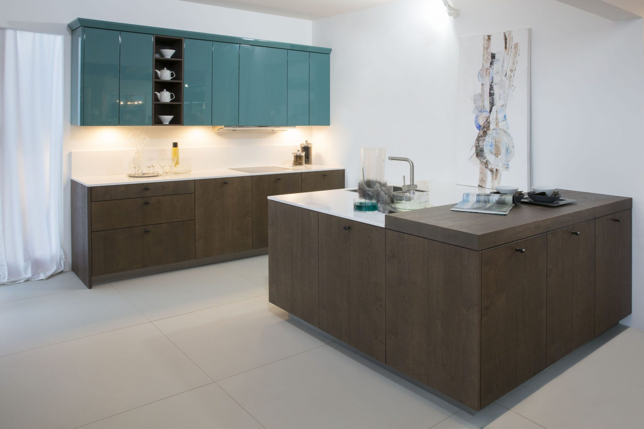 Grote houtenkeuken 21.5 bkb keukens