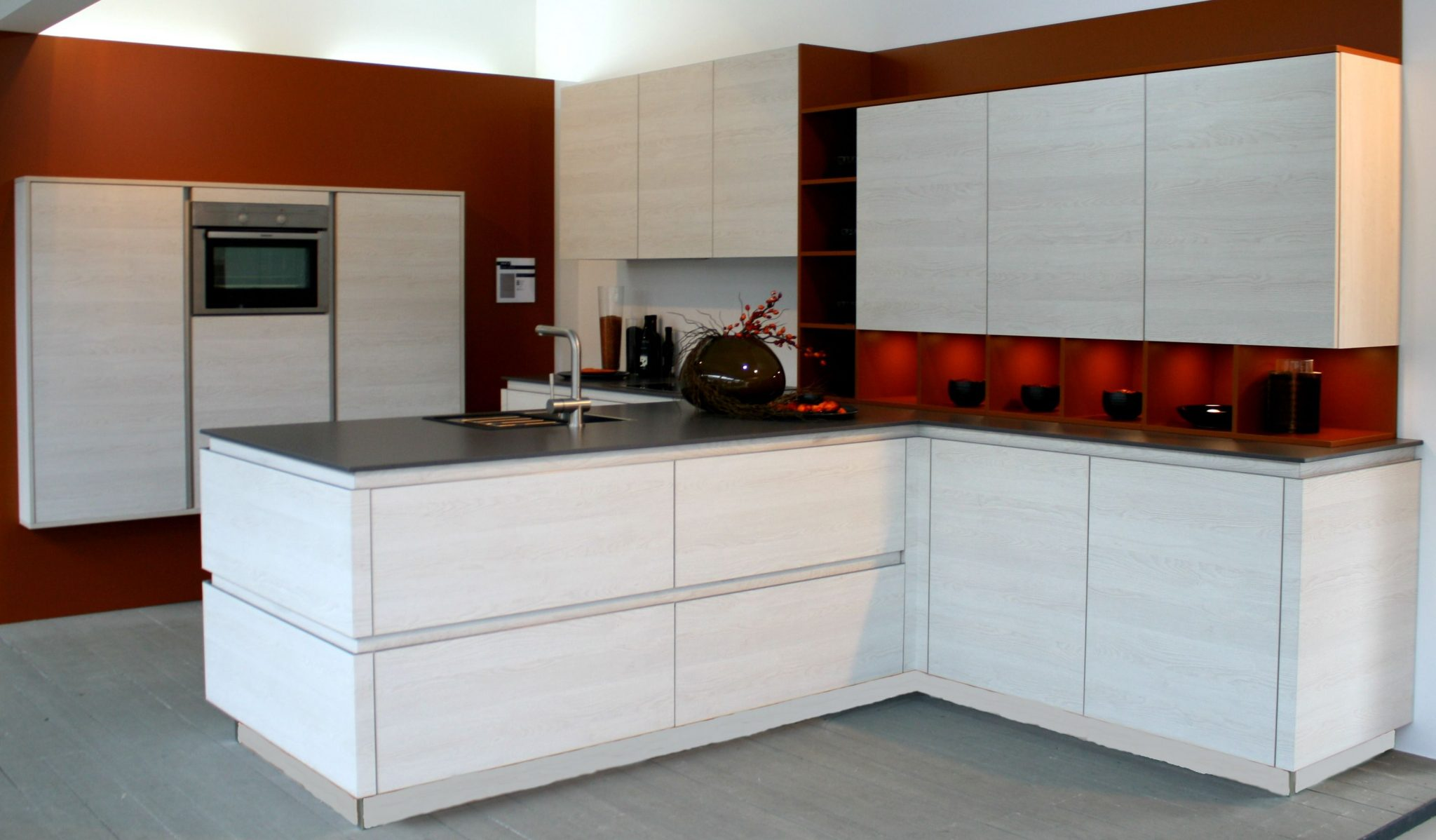 Keuken Wandkast 5 : T keuken greeploos 2.5 bkb keukens